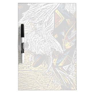 Grass Dancer Dry-Erase Board