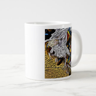 Grass Dancer Large Coffee Mug