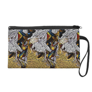 Grass Dancer Wristlet