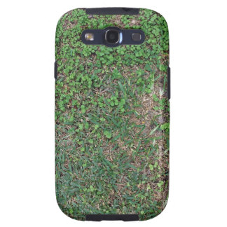 Grass, dirt, and dollar weed galaxy SIII case