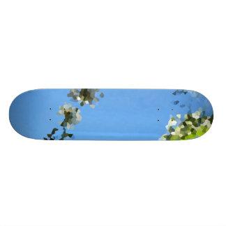 Grass eye view skate boards