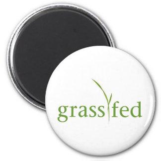 Grass Fed 2 Inch Round Magnet