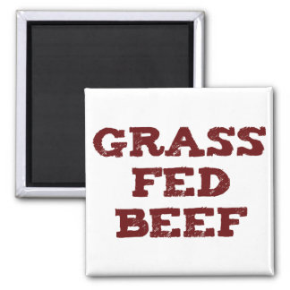 Grass Fed Beef Shirts and GIfts Magnet