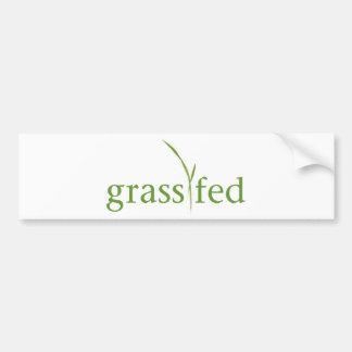Grass Fed Bumper Sticker