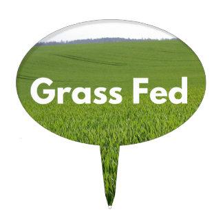 Grass Fed Cake Topper