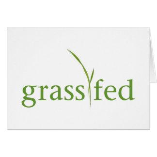 Grass Fed Card