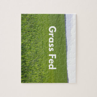 Grass Fed Jigsaw Puzzle