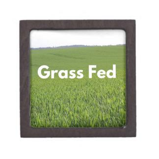Grass Fed Keepsake Box