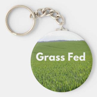 Grass Fed Keychain