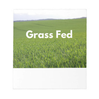 Grass Fed Notepad