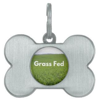 Grass Fed Pet ID Tag