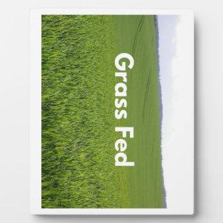 Grass Fed Plaque