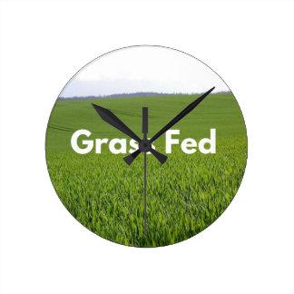 Grass Fed Round Clock