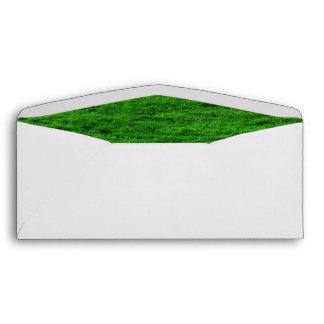 Grass Field Background Envelope