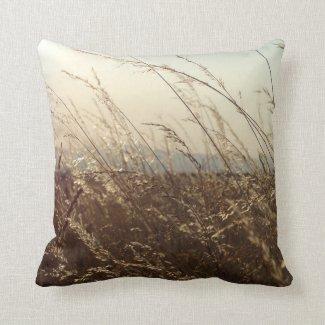 Grass Field Pillow