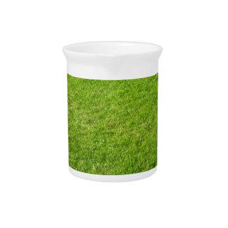 Grass field pitcher