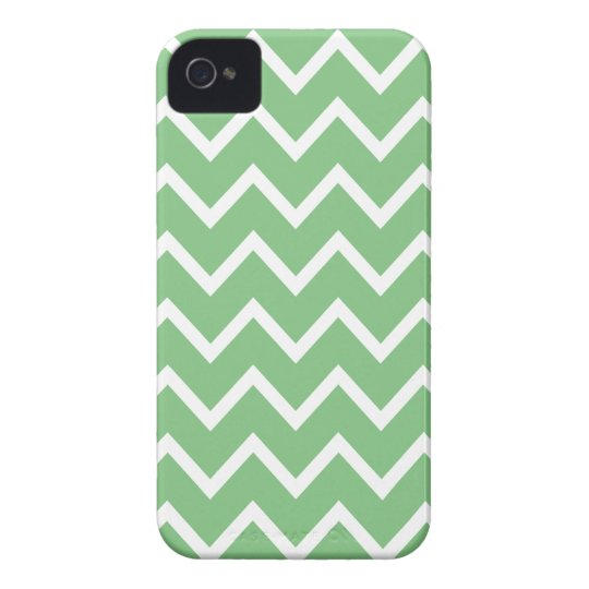 Grass Green Chevron Iphone 4S Case