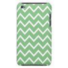 Grass Green Chevron iPod Touch G4 Case