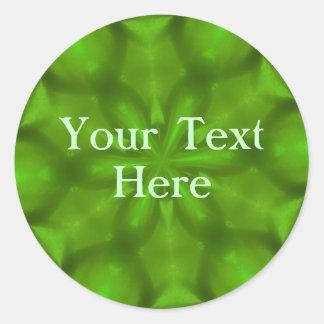 Grass-Green Stickers