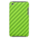 Grass Green Stripes. Barely There iPod Cases