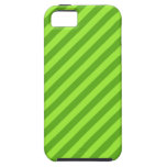 Grass Green Stripes. iPhone 5 Covers