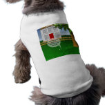 Grass Greener On Other Side Funny Dog T Shirt
