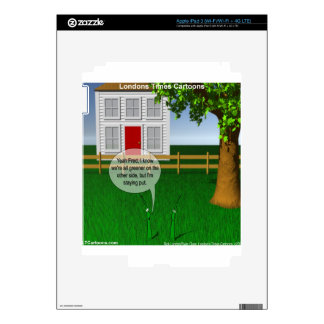 Grass Greener On Other Side Funny Skins For iPad 3