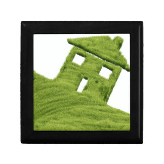 Grass house jewelry box