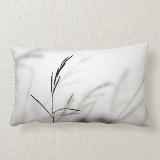 Grass in Breeze | Nature Photography Throw Pillow