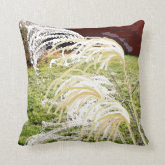 Grass in Light Colors Pillow