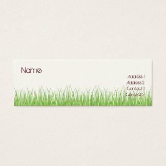 Grass Mini Business Card