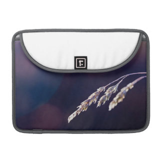 Grass on Purple Sleeve For MacBook Pro