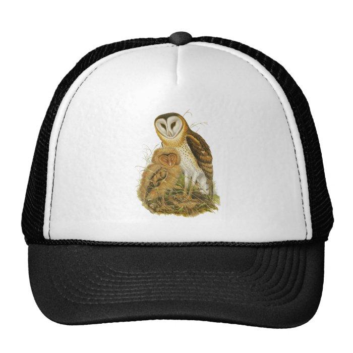 Grass Owl Trucker Hat