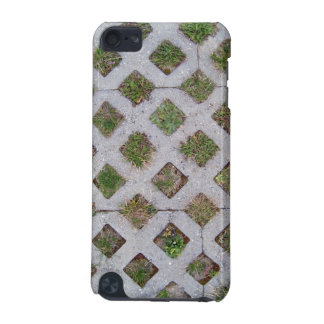 Grass Paver With Checkered Pattern iPod Touch (5th Generation) Case