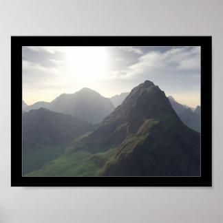 Grass Peaks Poster