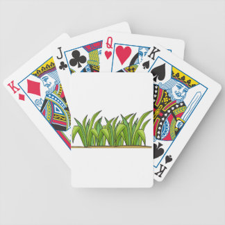 Grass Bicycle Playing Cards