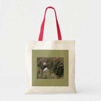 Grass Puffin Bag
