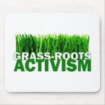 GRASS-ROOTS ACTIVISM MOUSE PAD