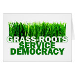 GRASS-ROOTS SERVICE DEMOCRACY CARD