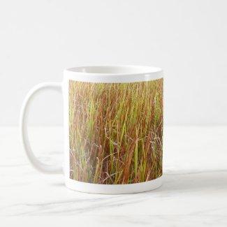 Grass sawgrass background florida plant mug