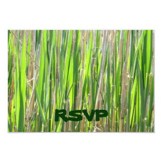 Grass Skirt Custom RSVP Cards Invitations