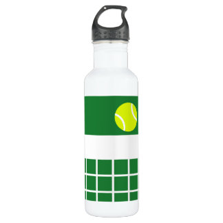 Grass Tennis Court Stainless Steel Water Bottle
