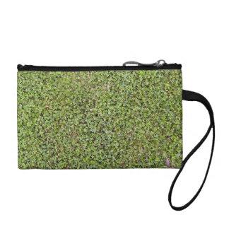Grass Texture Of A Fresh Cut Lawn Coin Wallets