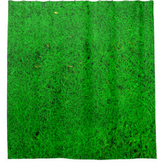 Grass Texture Shower Curtain