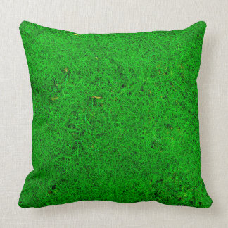 Grass Texture Throw Pillow