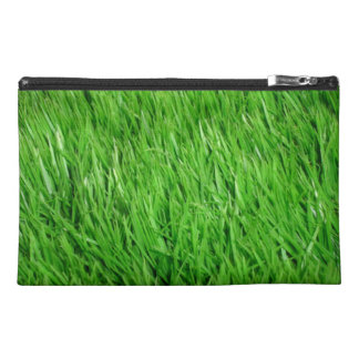 Grass travel wristlet