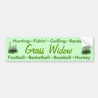 Grass Widow Bumper sticker Car Bumper Sticker