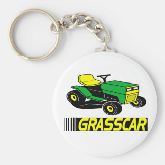 Grasscar T-shirts and Gifts. Basic Round Button Keychain