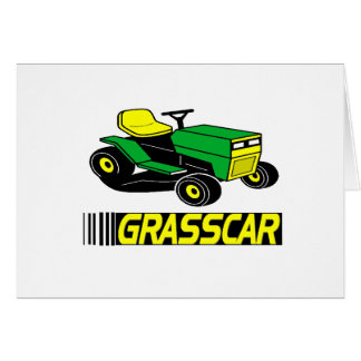 Grasscar T-shirts and Gifts. Greeting Card