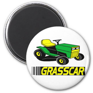 Grasscar T-shirts and Gifts. Magnet